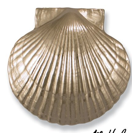 Sea Scallop Door Knocker by Michael Healy Designs