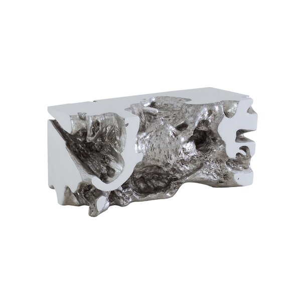 Clardy Resin Garden Bench by Rosecliff Heights