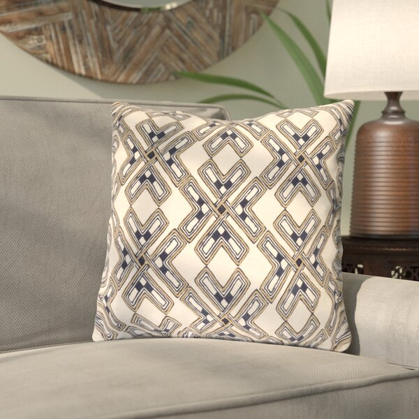 Andre Square Throw Pillow by Bloomsbury Market