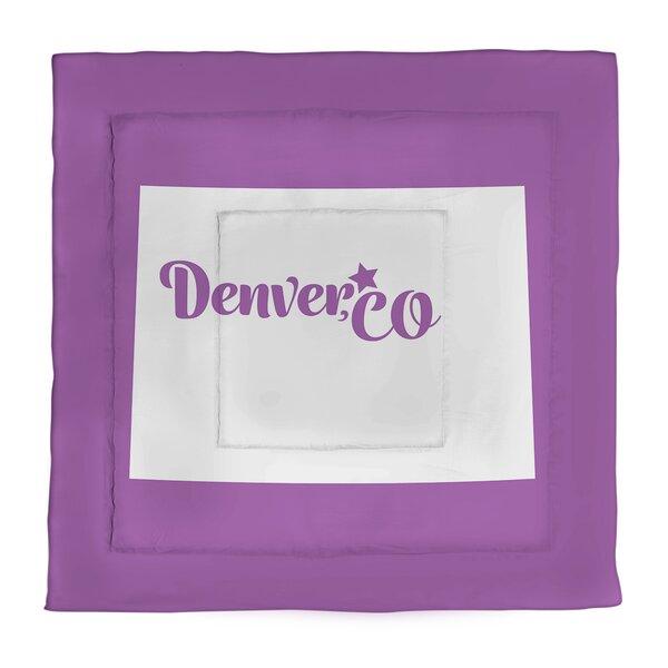 Colorado Denver Single Reversible Comforter