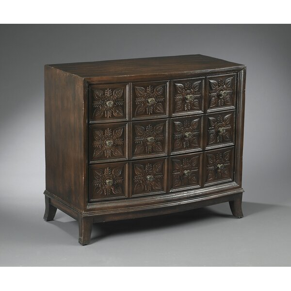Up To 70% Off Armes 3 Drawer Accent Chest