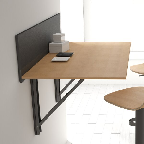 Click 9.9 Rectangular Floating Desk by Cancio