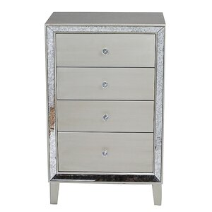 Avery 4 Drawer Accent Chest