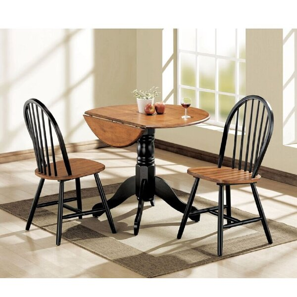 Melendez 3 Piece Pub Table Set by August Grove