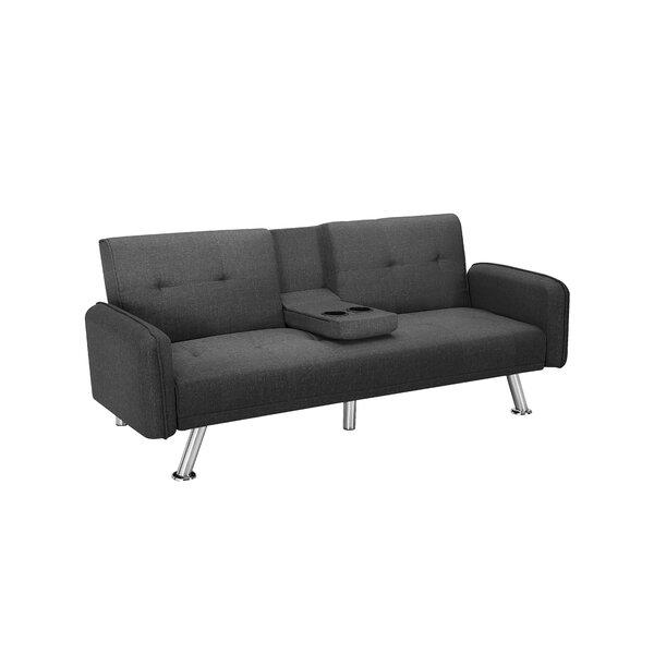 Ajkun 74.8'' Square Arm Sleeper By Ebern Designs
