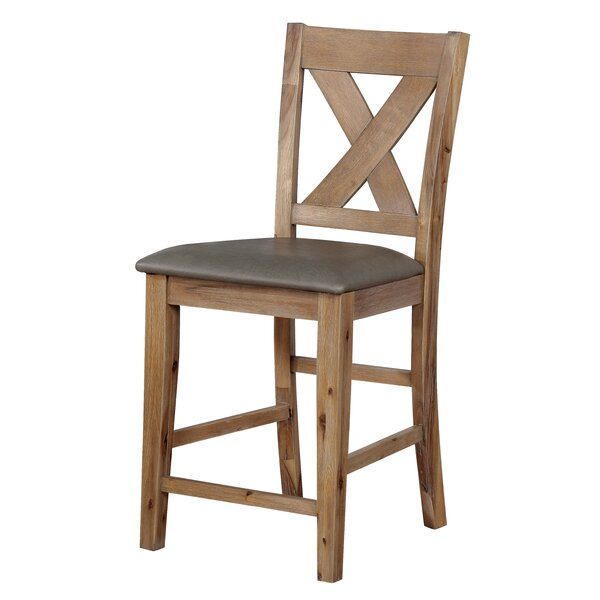 Cliffe Bar Stool (Set of 2) by Gracie Oaks