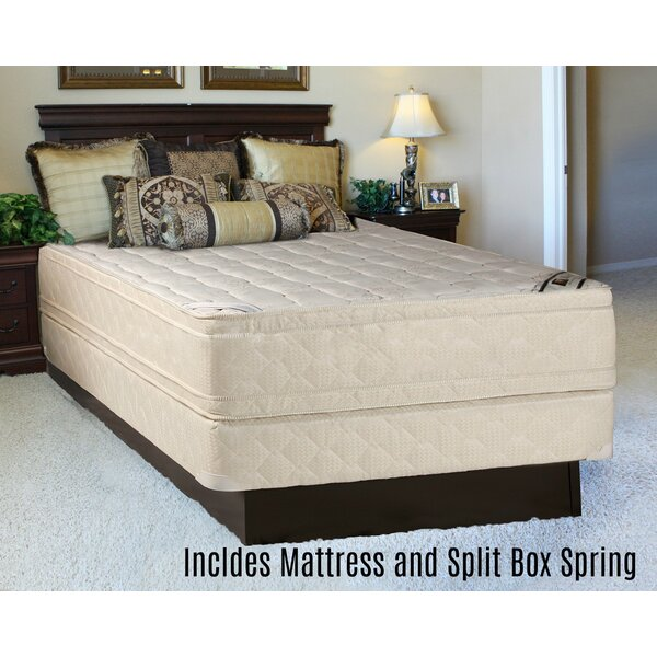 Foam Eurotop 14 Orthopedic Mattress and Split Box