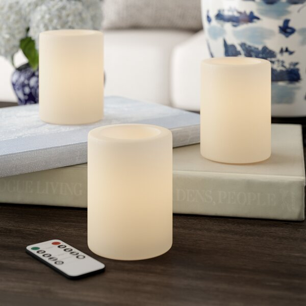 Paraffin Flameless Candle by Darby Home Co