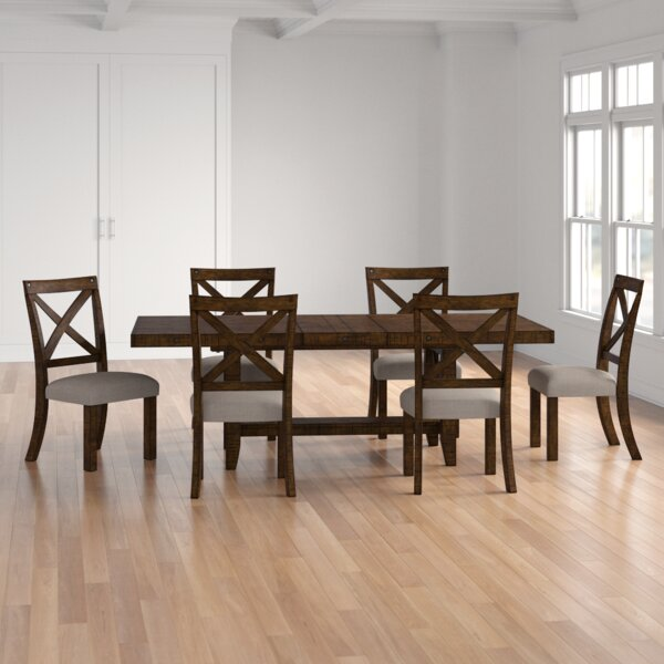 Melstone 7 Piece Extendable Dining Set by Three Posts Three Posts