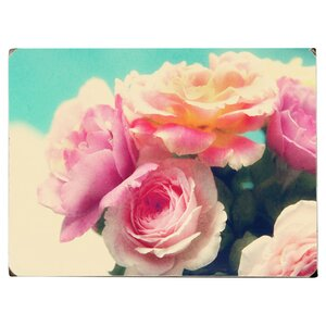 Rose's Pink Photographic Print on Wood by Artehouse LLC