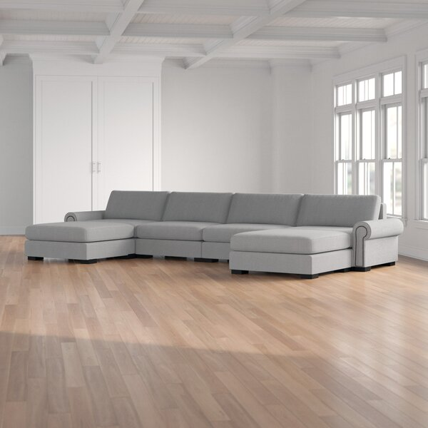Willia Reversible Modular Sectional By Three Posts