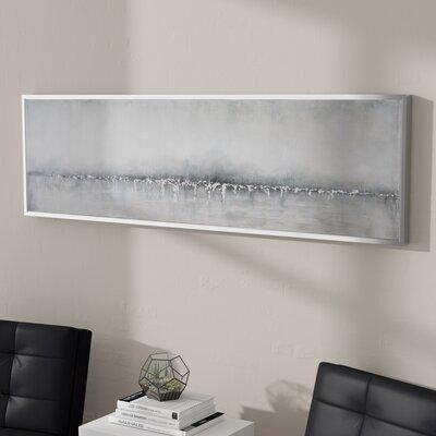 Silver Glitter Wall Art Wayfair