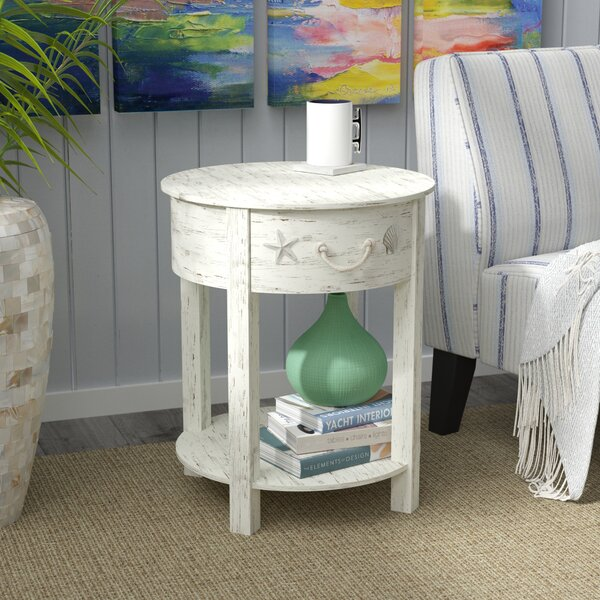 Review Dudek End Table With Storage