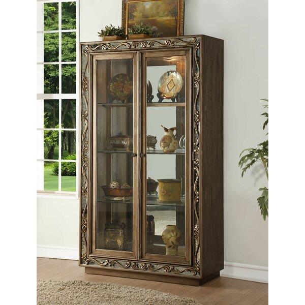 Hogan Curio Cabinet by Rosdorf Park