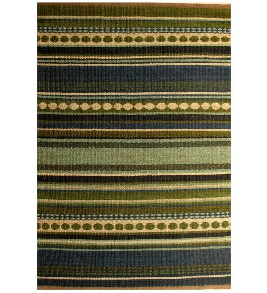Diana Green Area Rug by Acura Rugs