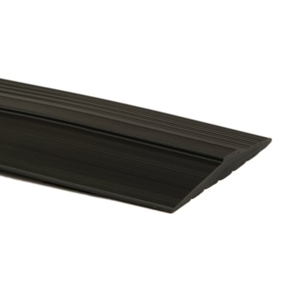 0.44 x 3.5 x 120 Threshold in Midnight Black by G-Floor