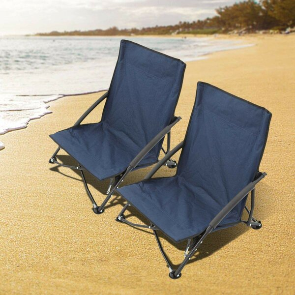 Littlehampt Folding Beach Chair (Set of 2) by Freeport Park Freeport Park