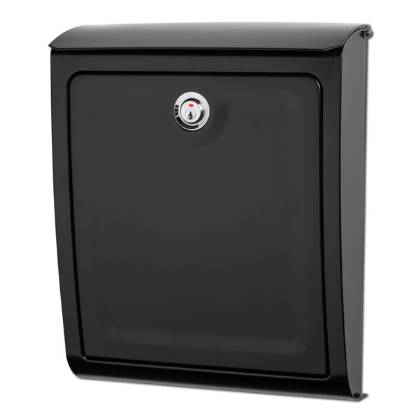 Sienna Locking Wall Mounted Mailbox by Architectural Mailboxes