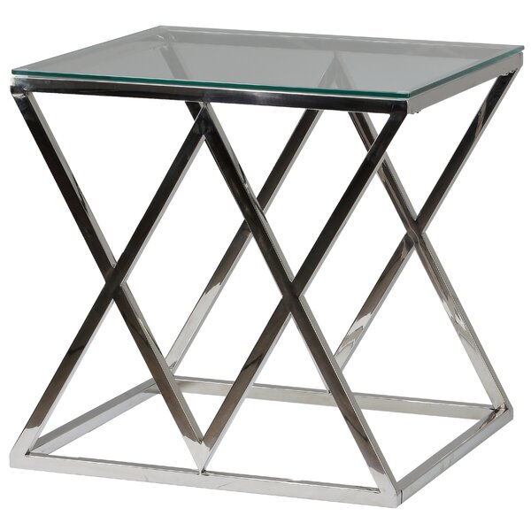 Lorden Contemporary End Table by Orren Ellis
