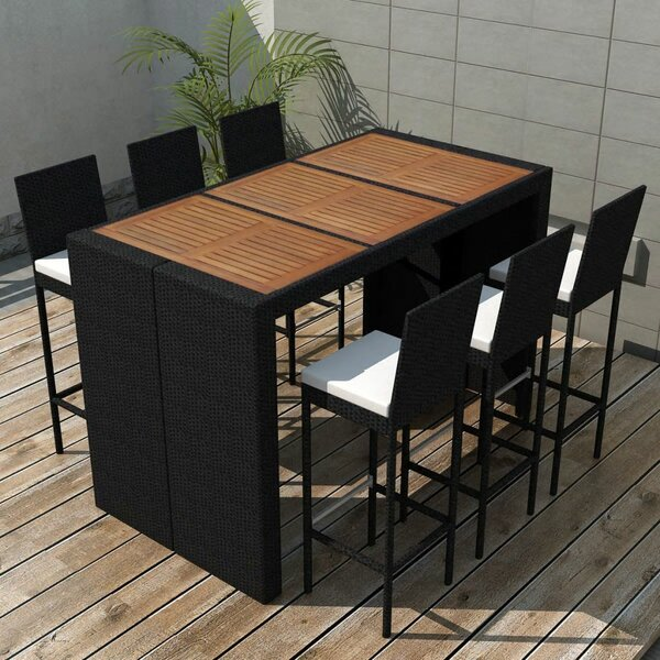 Kyles 7 Piece Dining Set with Cushions by Brayden Studio