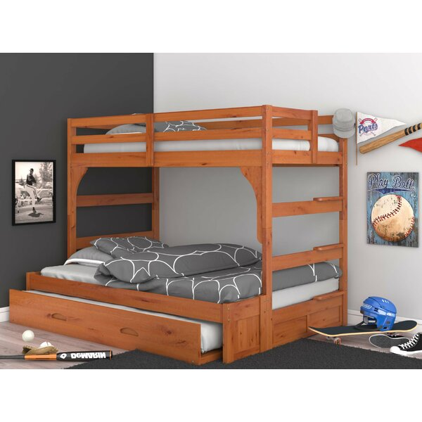 Guillelmina Twin Over Full Bunk Bed with Trundle by Birch Lane™ Heritage