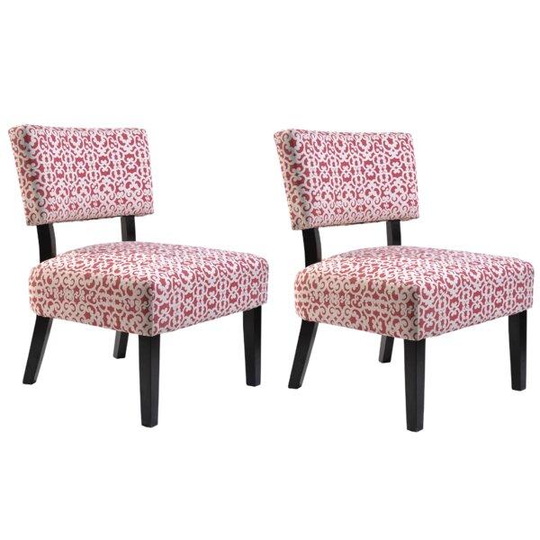 Phyllis Slipper Chair (Set of 2) by Ebern Designs