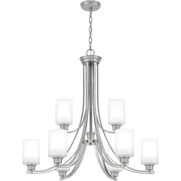 Amante 9 - Light Shaded Tiered Chandelier By Ebern Designs