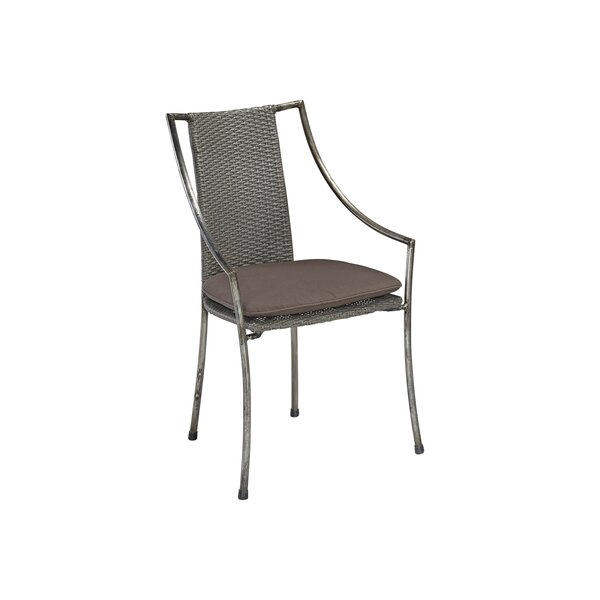 Penney Patio Dining Chair with Cushion by Williston Forge Williston Forge
