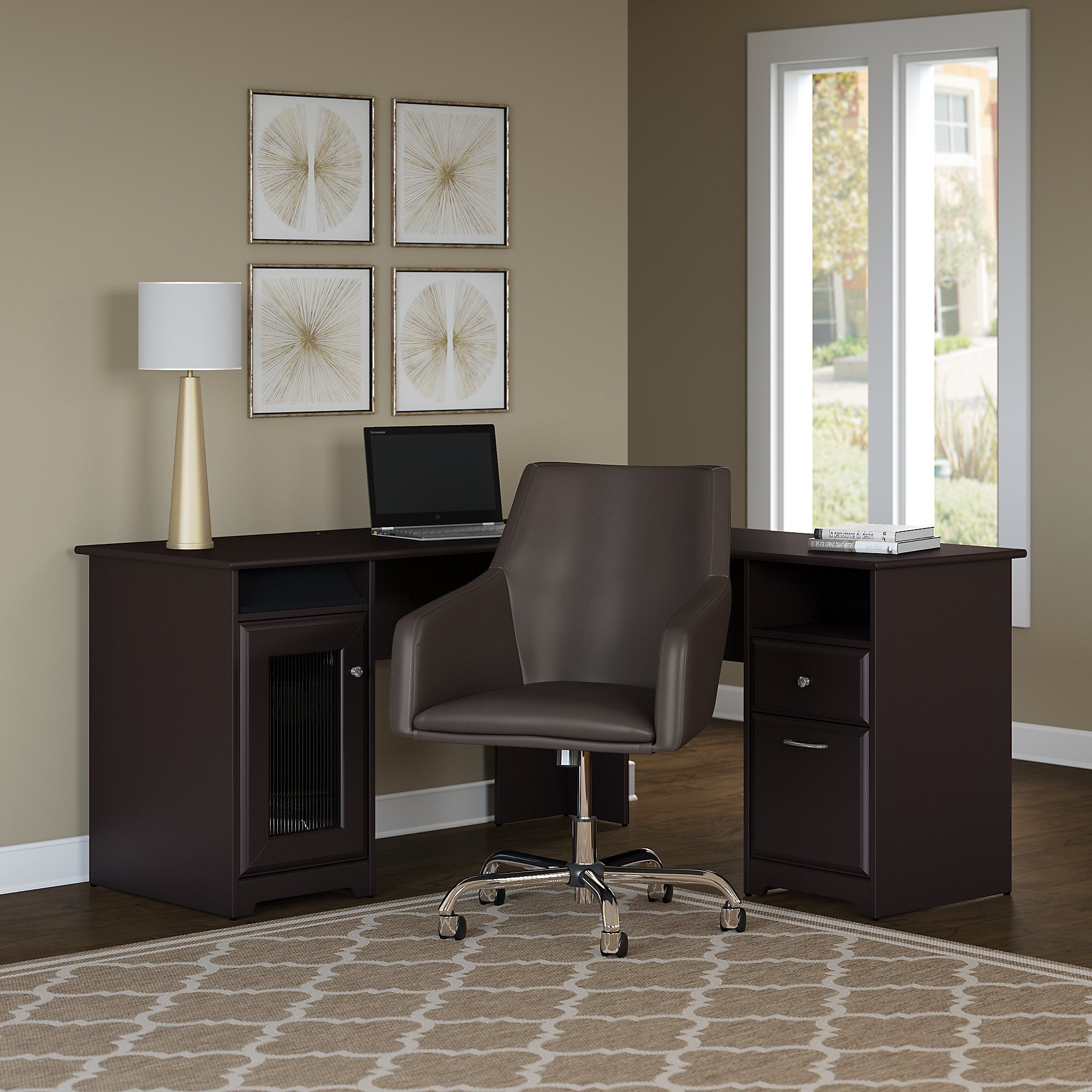 Gray Modern & Contemporary Office Furniture Sets You'll Love in