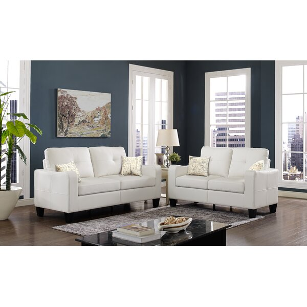 Jayleen 2 Piece Living Room Set by Winston Porter