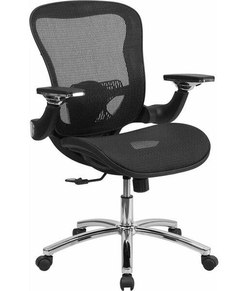 Kropp Mid-Back Transparent Ergonomic Mesh Swivel Office Chair by Symple Stuff