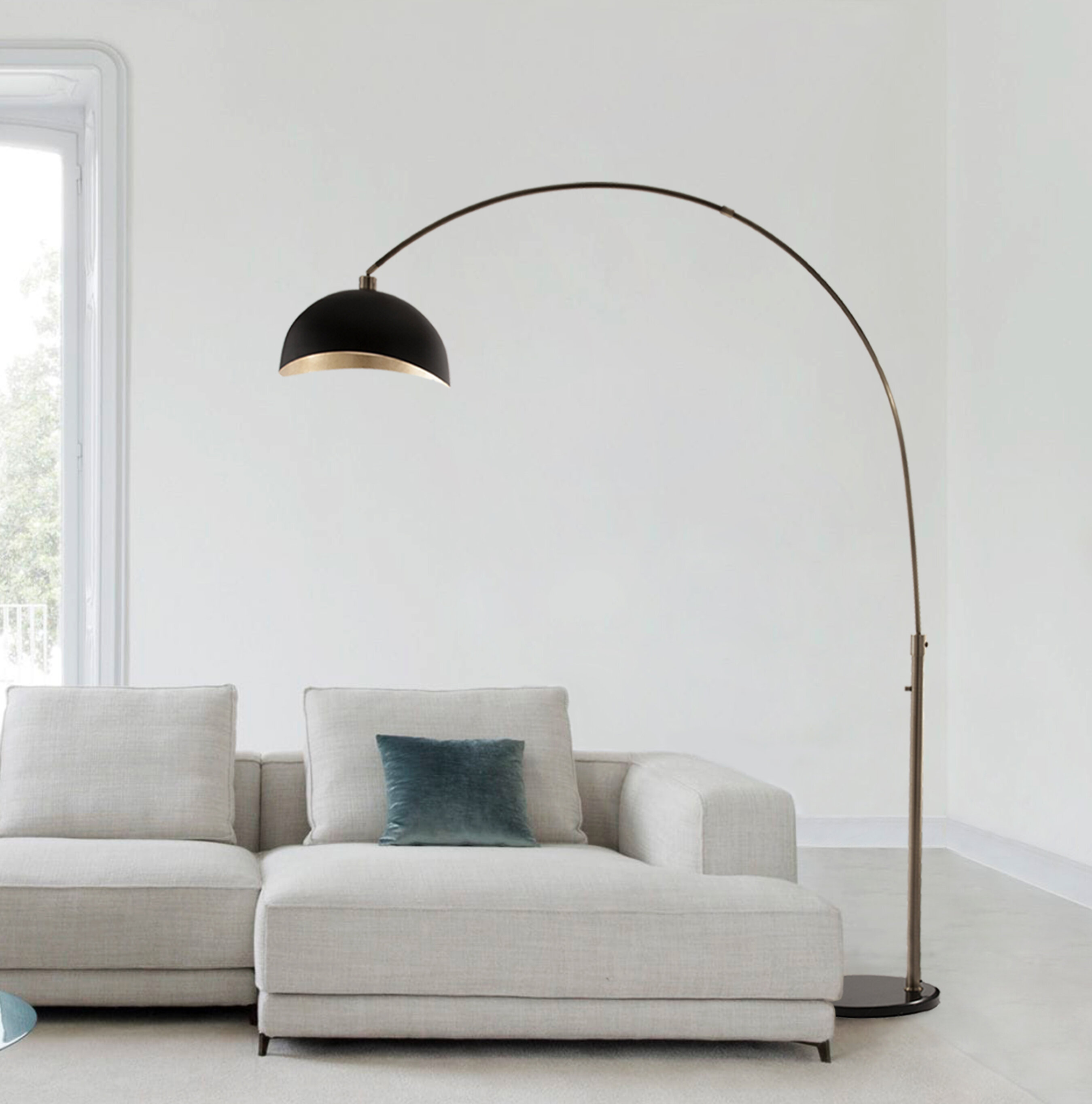 Pleasant Channell 92 Arched Floor Lamp Ibusinesslaw Wood Chair Design Ideas Ibusinesslaworg