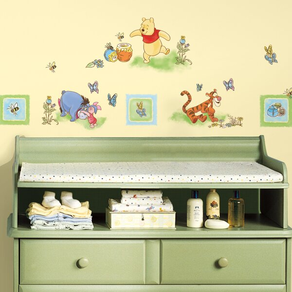 Deco Winnie The Pooh Toddler Wall Decal by Room Mates