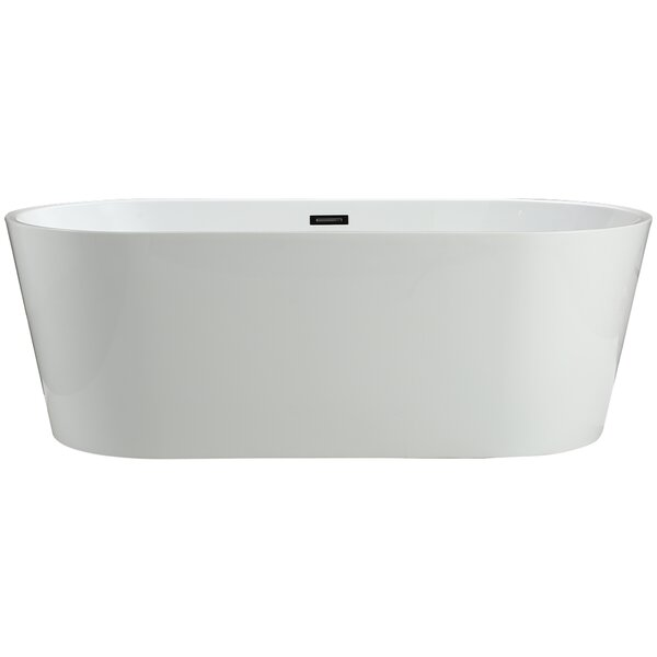 Lumina 59 x 29.5 Soaking Bathtub by Vinnova