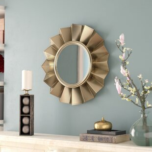 Willa Arlo Interiors Vertical Round Wall Mirror
