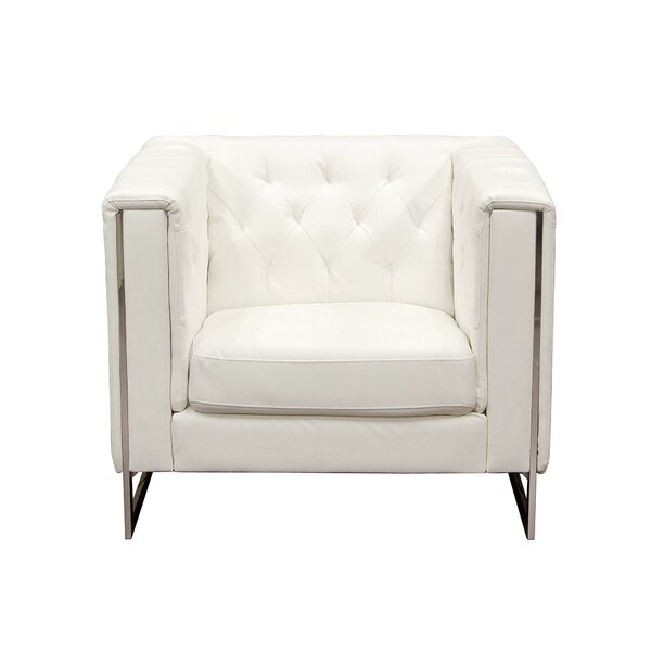 Chelsea Leatherette Armchair by Diamond Sofa
