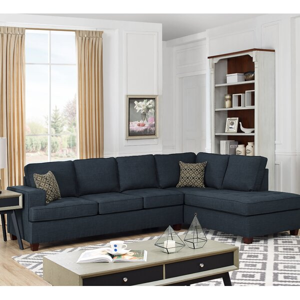 New High-quality Samaira Sleeper Sectional by Red Barrel Studio by Red Barrel Studio