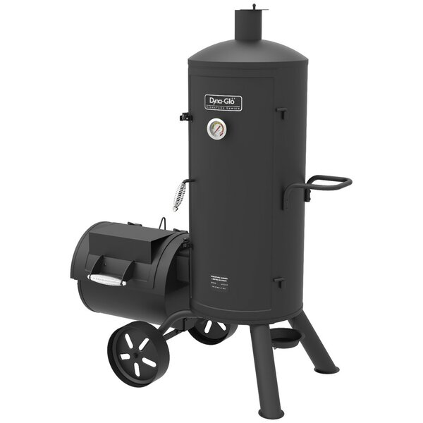 Signature Series Vertical Char Offset Charcoal Smoker and Grill by Dyna-Glo