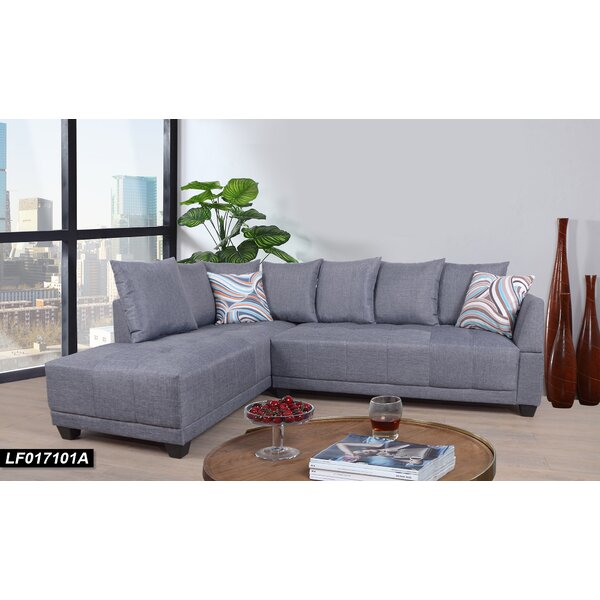 Stradley Sectional by Ebern Designs