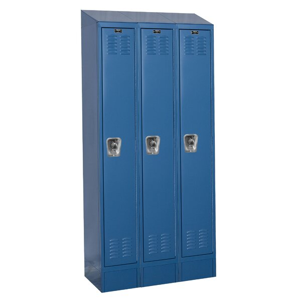 ReadyBuilt II 1 Tier 3 Wide School Locker by Hallowell