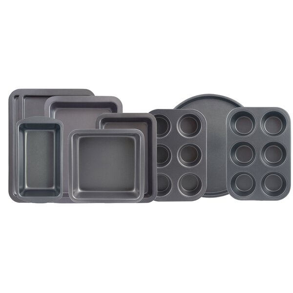 9 Piece Non-Stick Bakeware Set by Range Kleen