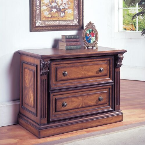 Huntington 2-Drawer Lateral Filing Cabinet by Parker House Furniture