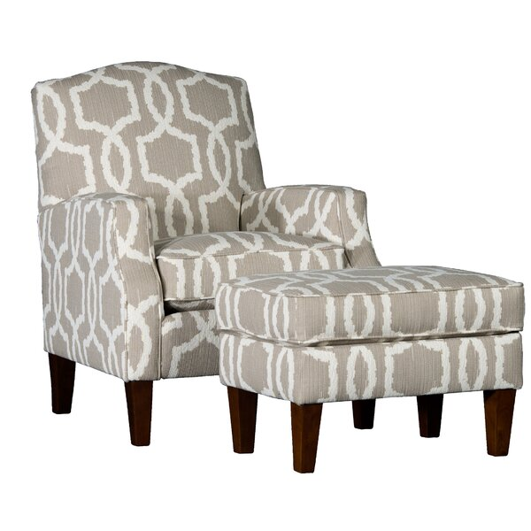 Cuccia Armchair and Ottoman by Darby Home Co Darby Home Co