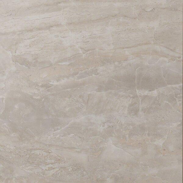 Onyx Grigio 18 x 18 Porcelain Field Tile in Gray by MSI