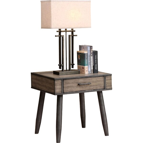 Los Robles End Table With Storage By Corrigan Studio