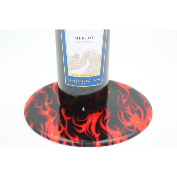 Flames Trivet by Andreas Silicone Trivets