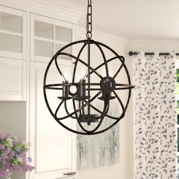 Leung 5-Light Globe Chandelier by Gracie Oaks Gracie Oaks