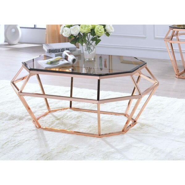 Parley Glass Coffee Table By Everly Quinn