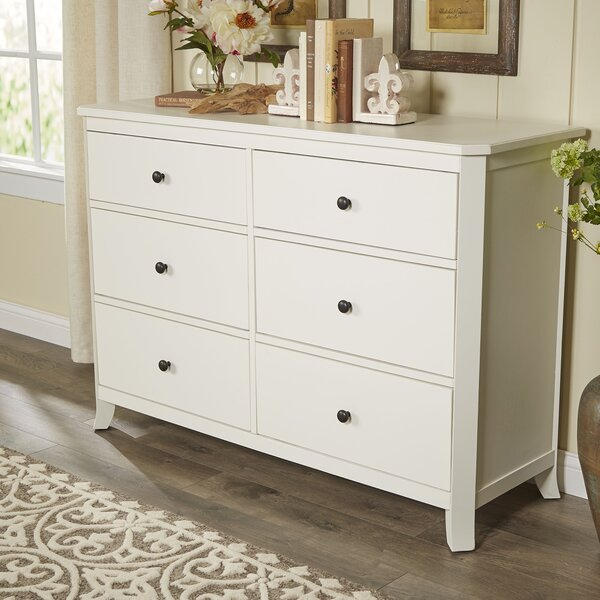 #2 Marilyn 6 Drawer Double Dresser By Birch Lane™ Heritage Read Reviews
