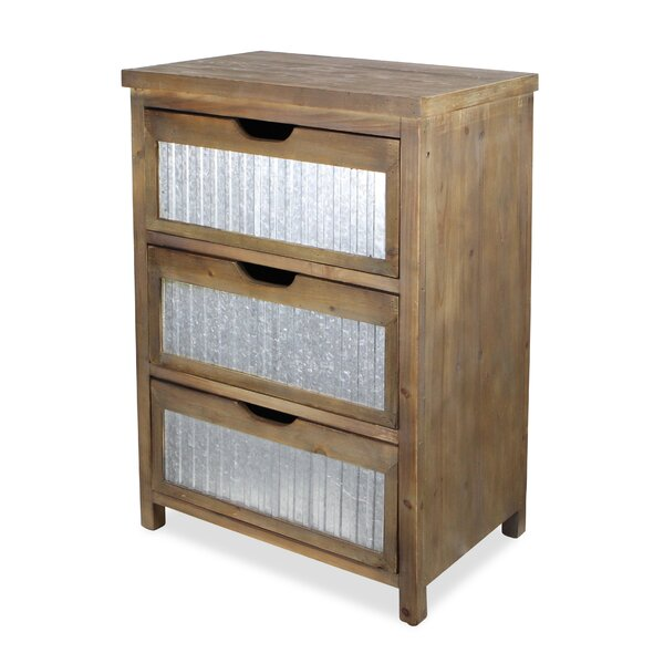 Maynard 3 Drawer Accent chest by Ophelia & Co.